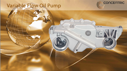 Variable Flow Gear Oil Pump