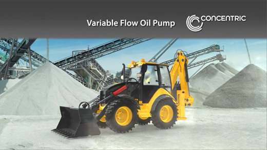 Variable Flow Oil Pump